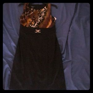 NWT ALYX animal print elegant dress.